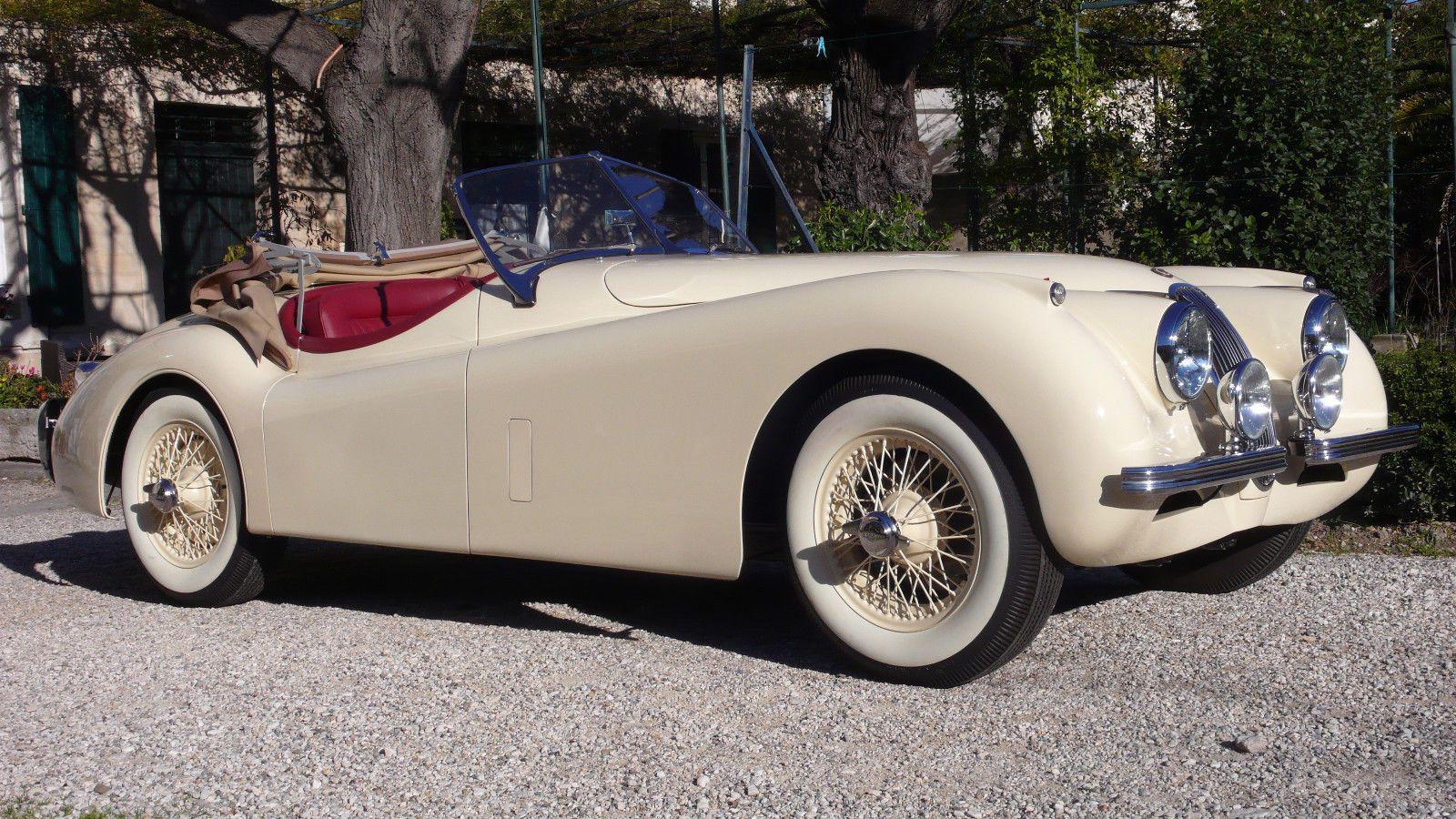 1953 Jaguar Xk 120 Roadster For Sale