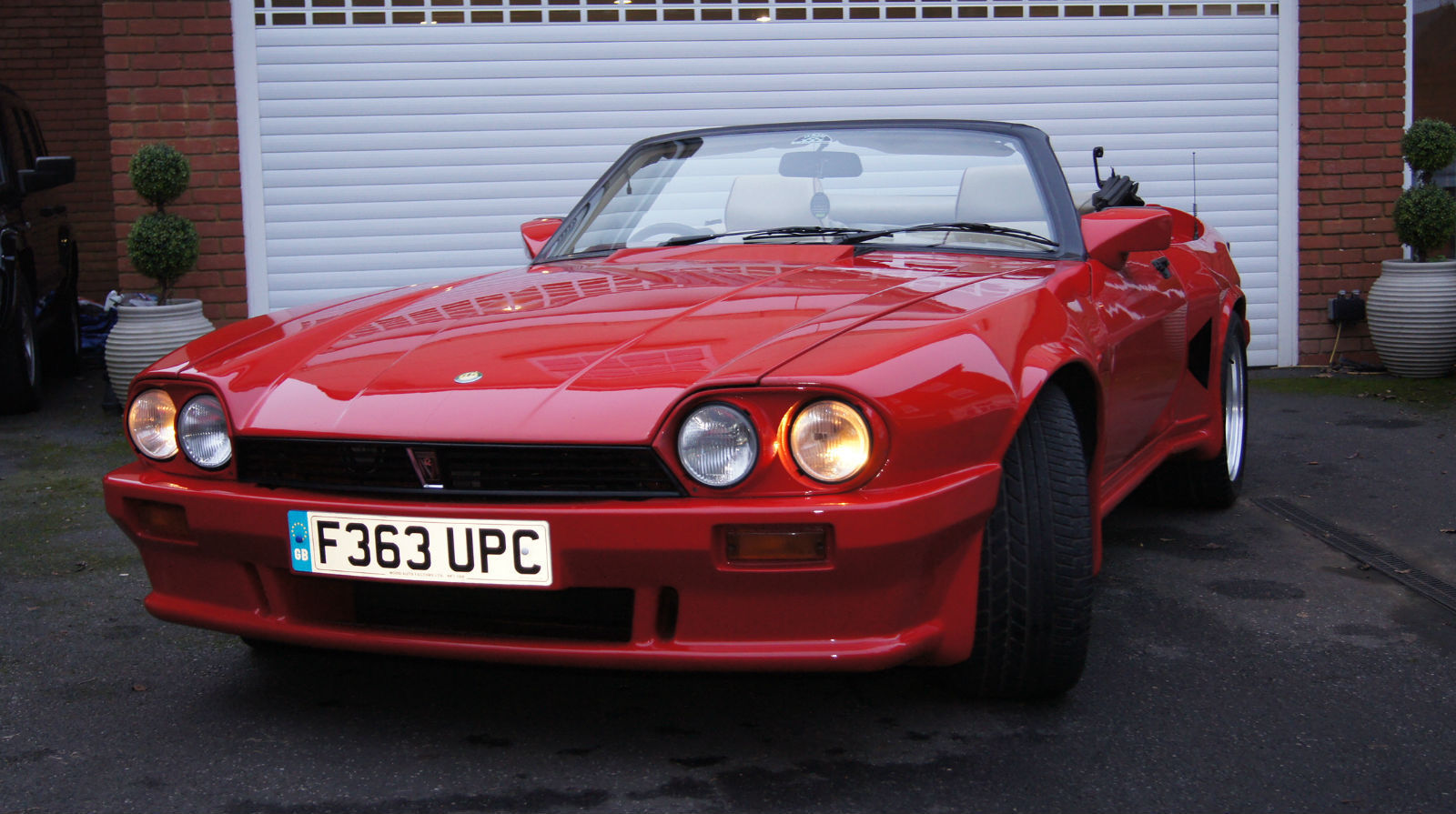 1989 Jaguar Xjs Lister Convertible For Sale