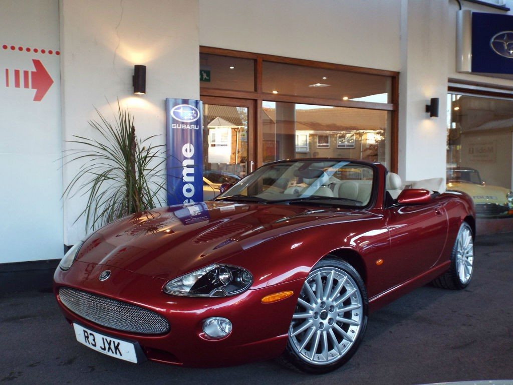 2005 Jaguar XKR 4.2 V8 Supercharged Convertible