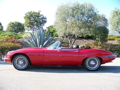 1973 Jaguar E-Type V-12, Series III, Roadster for sale