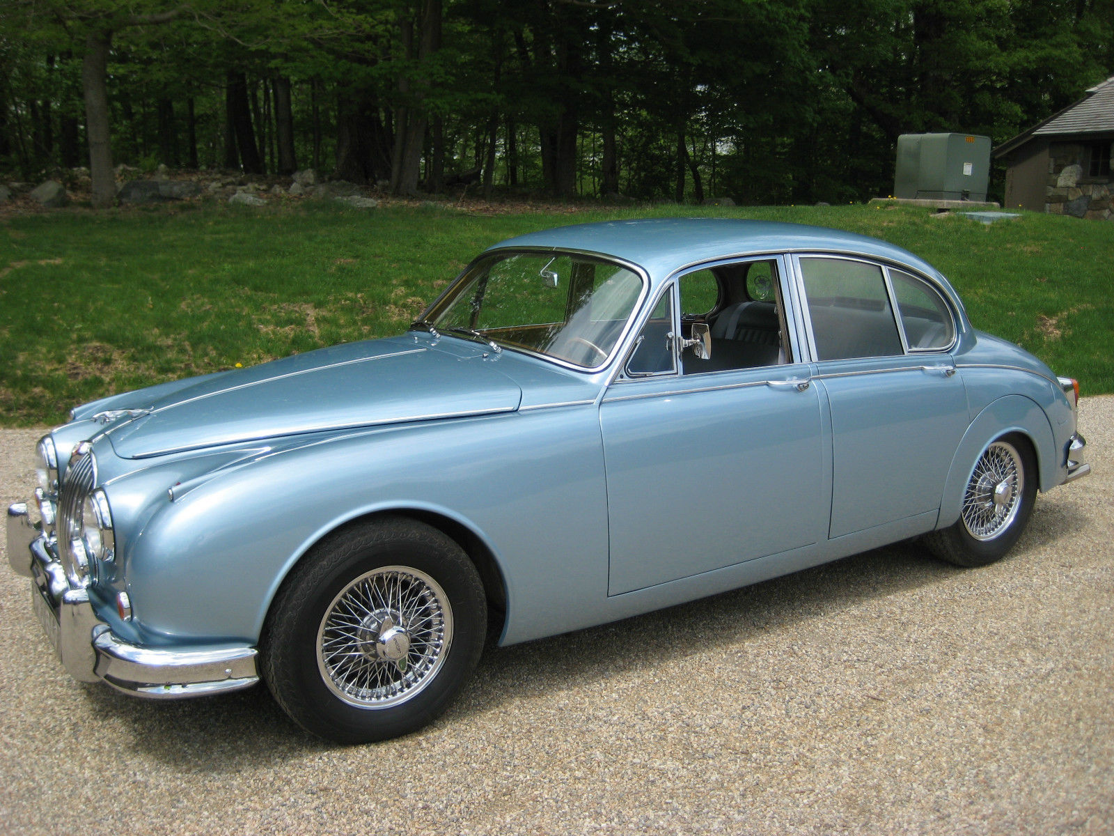 1963 jaguar mk2 3 8 litre 4 door sedan for sale. Black Bedroom Furniture Sets. Home Design Ideas