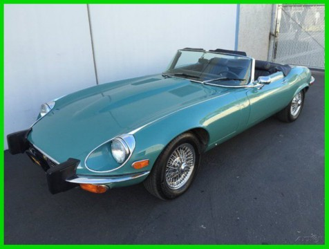 1974 Jaguar E-Type XKE SERIES 3 V-12 ROADSTER for sale