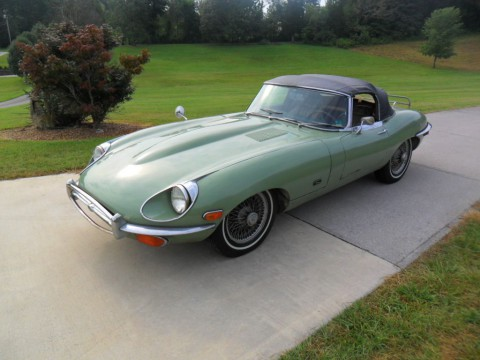 1971 Jaguar E-type XKE Convertible Series 2 for sale