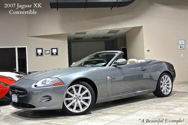 2007 jaguar xk 2dr convertible for sale. Black Bedroom Furniture Sets. Home Design Ideas