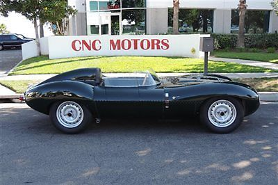 "1965 Jaguar Recreation by Tempero Replicating an Early ""short Nose"" D Type for sale"