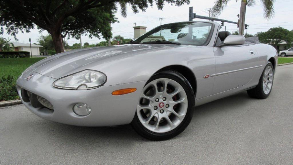 2001 jaguar xkr silverstone convertible for sale. Black Bedroom Furniture Sets. Home Design Ideas