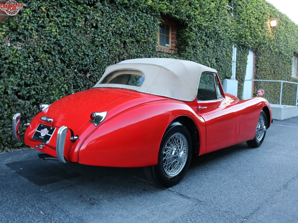 1954 jaguar xk 120 dhc for sale. Black Bedroom Furniture Sets. Home Design Ideas