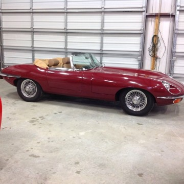 1969 Jaguar E Type Series 2 4.2L XKE OTS for sale