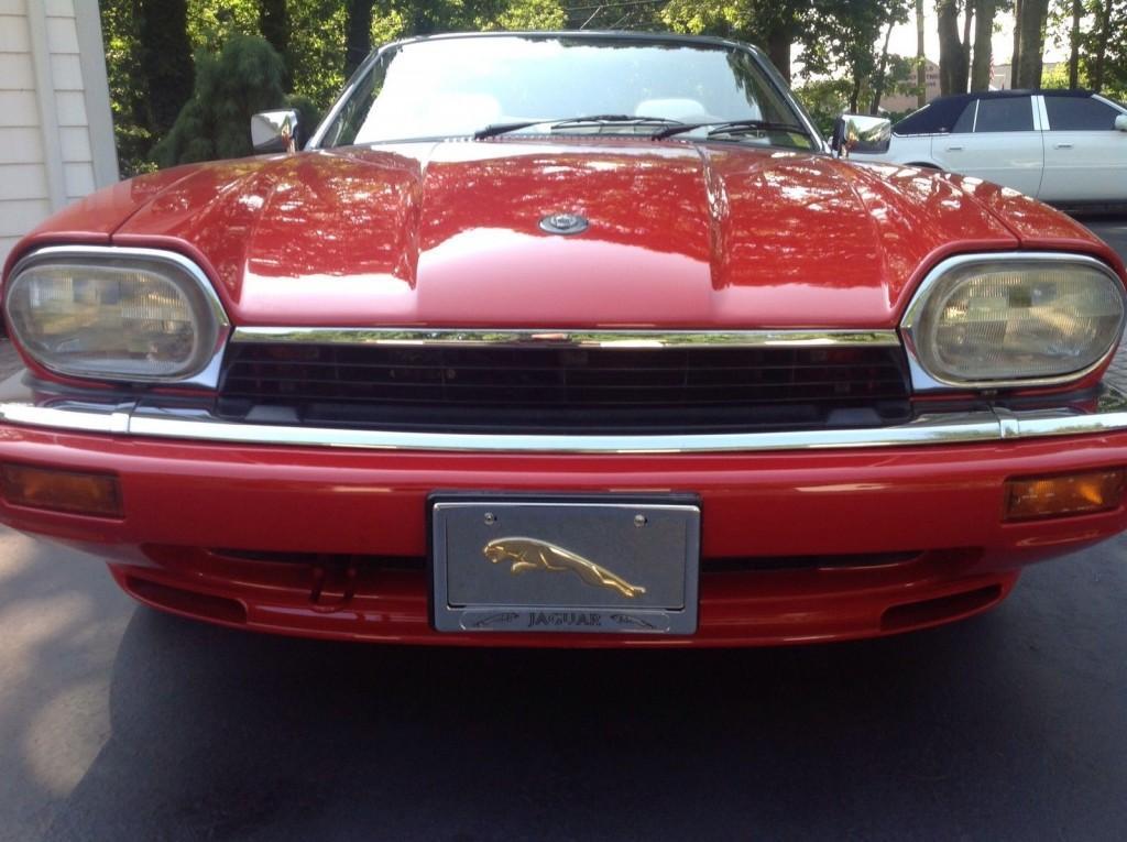 1996 Jaguar XJS 2+2 Convertible 2 Door 4.0L