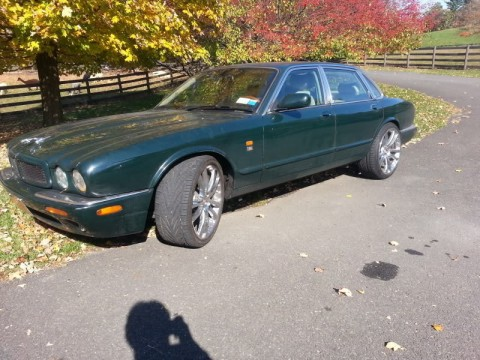 2000 Jaguar XJR with Senta Chrome rims for sale