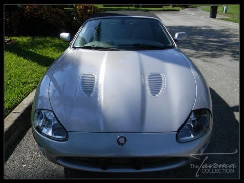 2000 Jaguar XKR Supercharged Convertible for sale