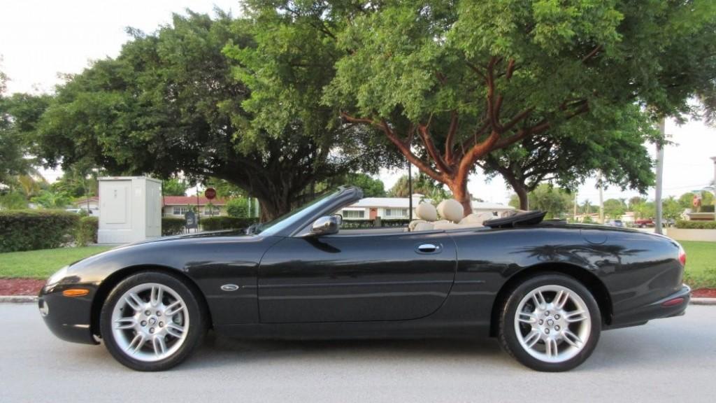 2002 jaguar xk8 convertible 4 0l for sale. Black Bedroom Furniture Sets. Home Design Ideas