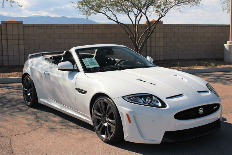 2013 Jaguar XKR S Convertible