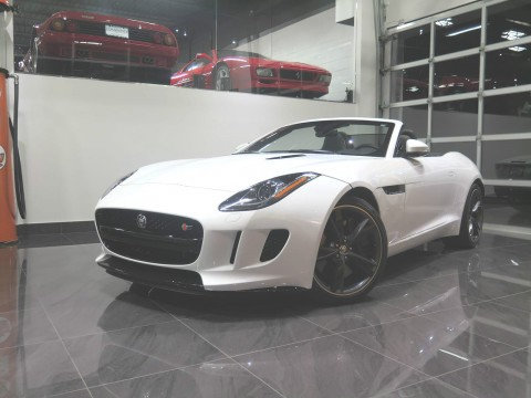 2014 Jaguar F Type S Convertible 2 Door 3.0L for sale