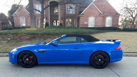 2012 Jaguar XKR Convertible for sale