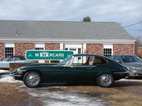 1971 Jaguar E TYPE SIII Coupe XKE 2+2 for sale