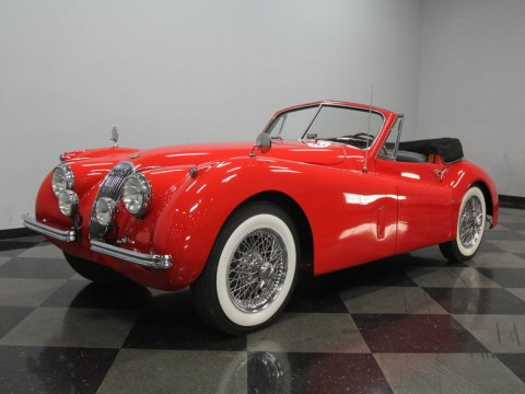 1954 Jaguar XK 120 SE DHC for sale