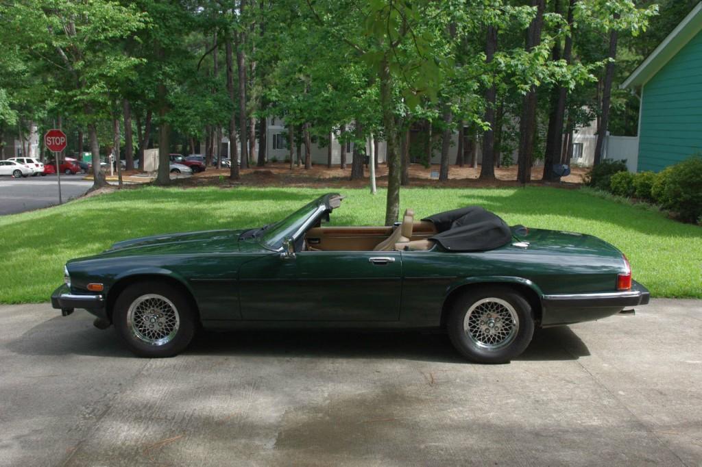 1989 jaguar xjs convertible for sale. Black Bedroom Furniture Sets. Home Design Ideas