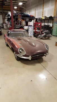 1963 Jaguar xke e type with Hardtop Matching #'s Series 1 for sale