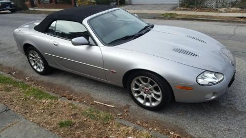 2001 Jaguar XKR Supercharged Convertible for sale