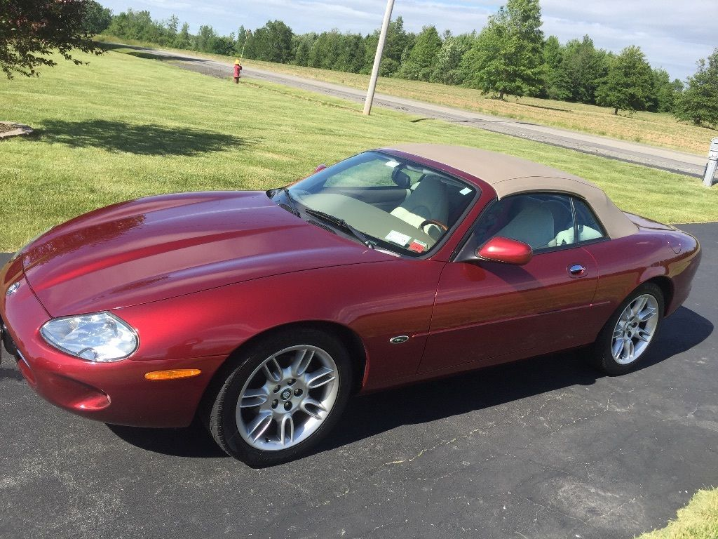 1998 jaguar xk8 convertible for sale. Black Bedroom Furniture Sets. Home Design Ideas