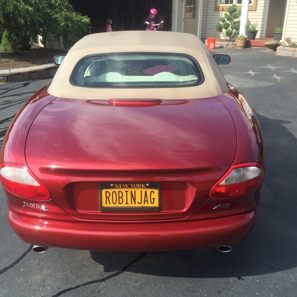 2001 Jaguar Xk Interior: 1998 Jaguar XK8 Convertible For Sale