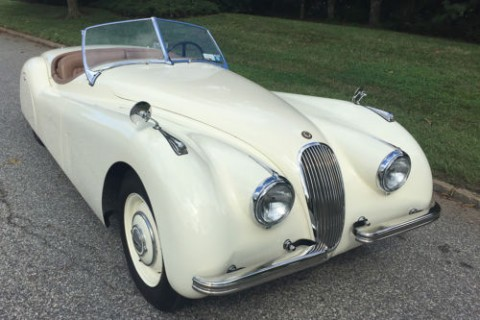 1952 Jaguar XK 120 Roadster for sale