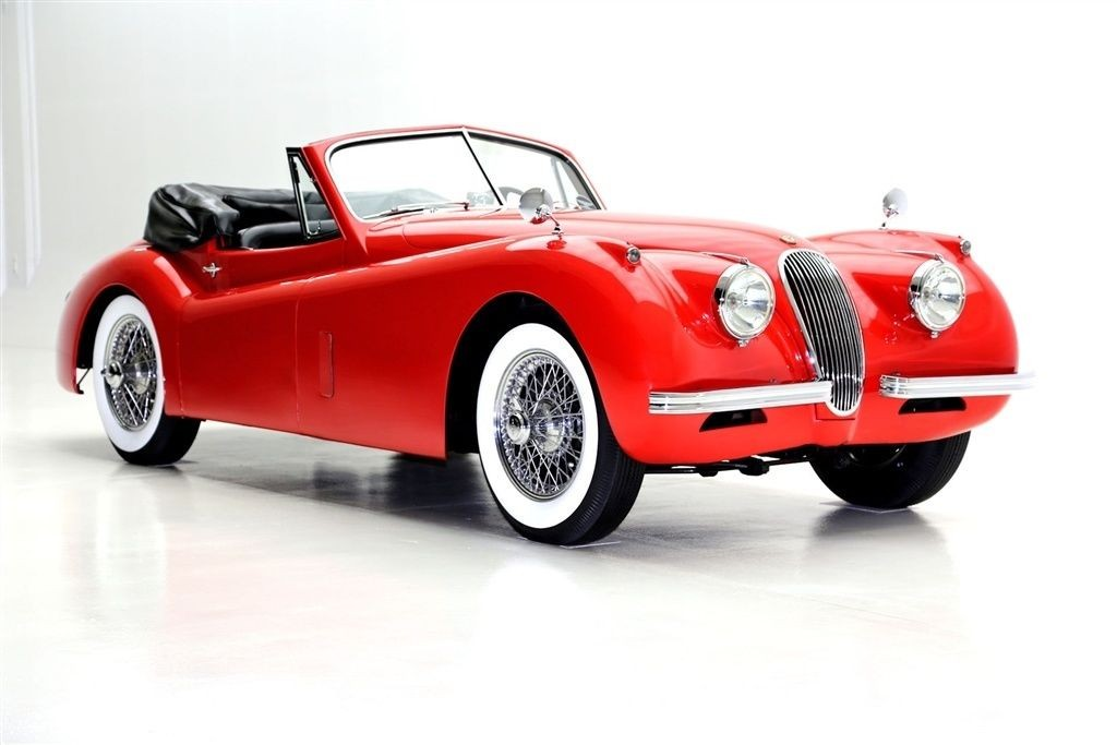 1954 jaguar xk convertible drop head for sale. Black Bedroom Furniture Sets. Home Design Ideas