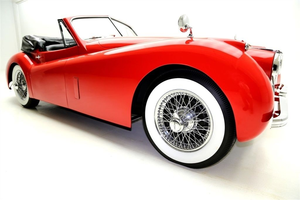 1954 Jaguar Xk Convertible Drop Head For Sale