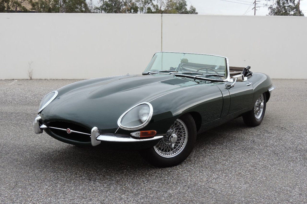 1963 Jaguar E Type Roadster Convertible For Sale