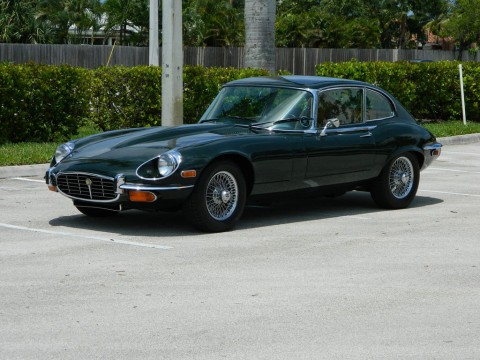 1971 Jaguar E Type XKE V 12 2+2 Series III Coupe for sale