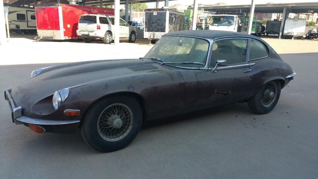1972 Jaguar E Type Coupe For Sale