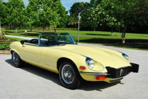 1974 Jaguar E Type Convertible for sale