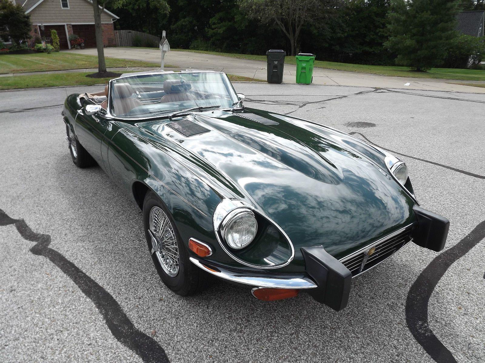 1974 Jaguar E Type Convertible For Sale