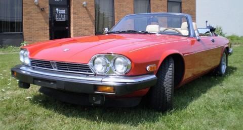 1991 Jaguar XJS Classic CONVERTIBLE for sale