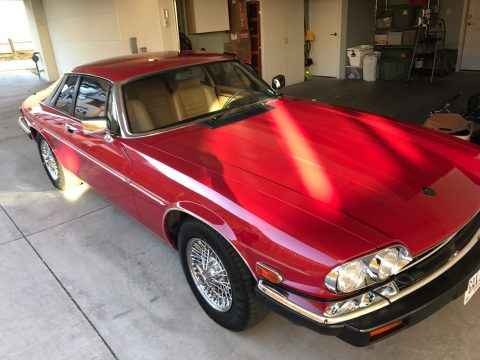 1987 Jaguar XJS V12 Type Maroon for sale