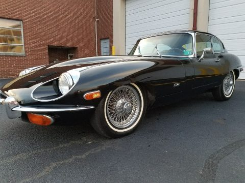 1970 Jaguar E Type FHC – very nice condition for sale