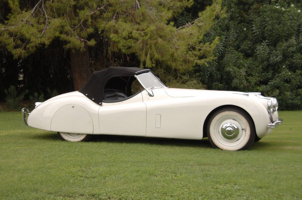 1952 Jaguar XK – an absolute pleasure to drive