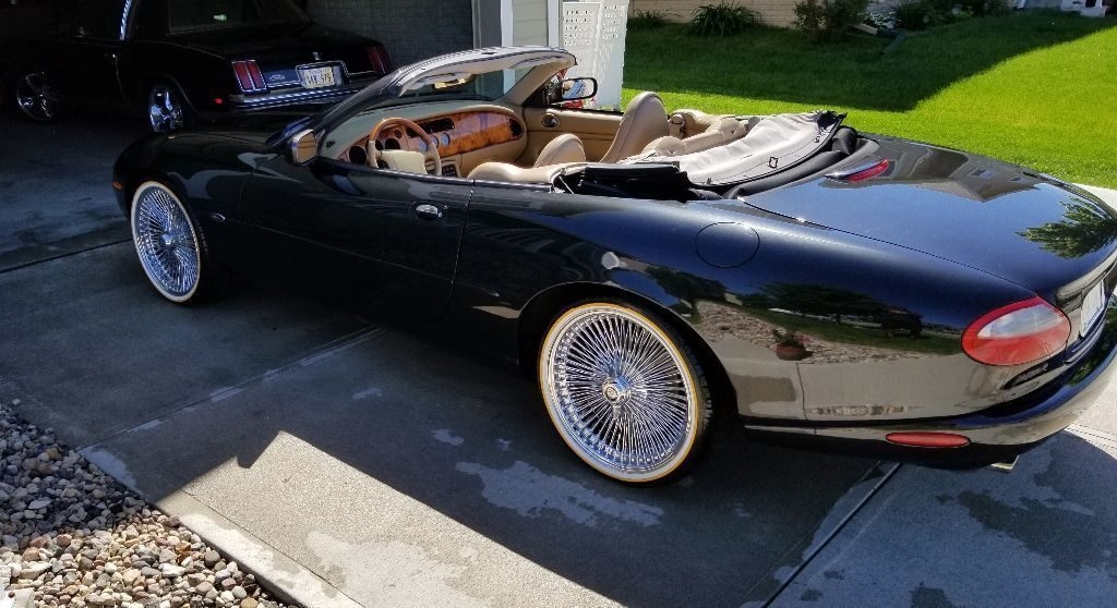 AMAZING 1997 Jaguar XK8 Convertible