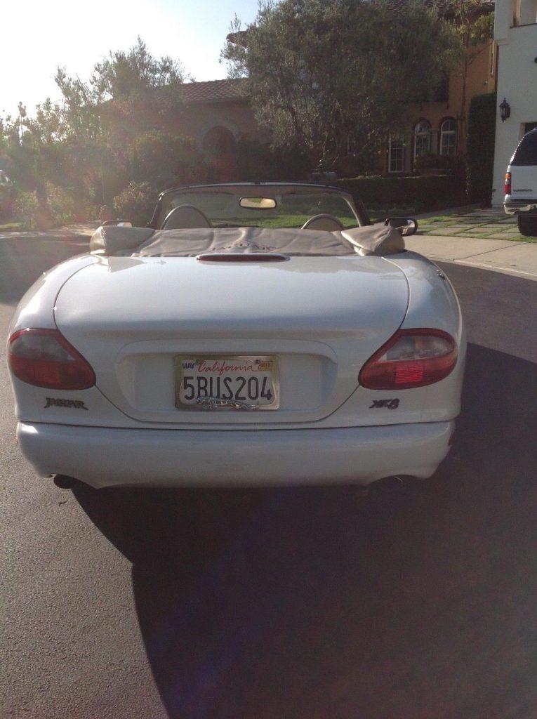NICE 1998 Jaguar XK8 convertible